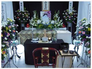 近代祭壇(家族葬向き)プラン