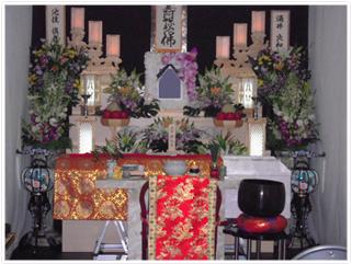 白木祭壇プラン